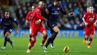 Southampton V Arsenal