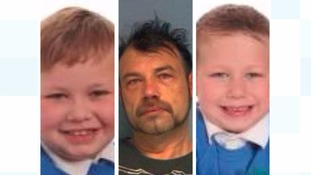 Michael John Cole, 43, Michael Lee Cole, eight, and Harry Cole, aged seven