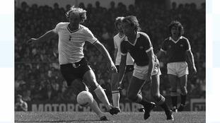 Tottenham Hotspur's Terry Yorath