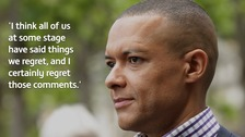 Clive Lewis 'apologises unreservedly' for 'get on your knees' comment