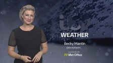 Weather: Storm Brian brings rain in the west overnight