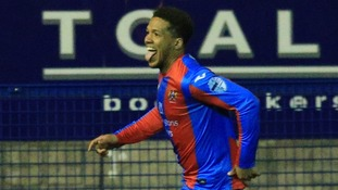 Guillaume Keke scored for Ards.
