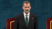 King Felipe: Catalonia 'is and will be' part of Spain