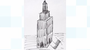 Donald Trump's marker pen sketch of Empire State Building sells for £12,100 at auction