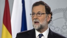 Spain moves to dissolve Catalan government