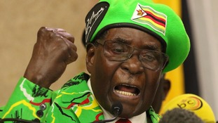 Mugabe has an alleged record of human rights abuses.