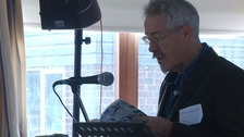 Griff Rhys Jones in 8 hour reading marathon of the book We Didn't Mean To Go To Sea.