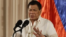 Philippine president offers to shoot criminals himself