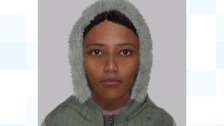 E-fit of woman released over knife-point robberies