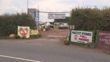 Man arrested after Kirby Misperton fracking protest
