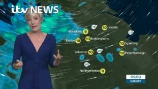 East Midlands Weather: Wet start turning brighter