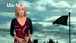 Find out the latest on Storm Brian with Emma Jesson