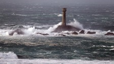 British Isles hit by gale-force winds and high seas