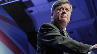 Justice Secretary Kenneth Clarke.