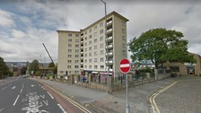 Murder inquiry starts after 18 month old baby falls from block of flats in Bradford