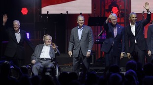Five former presidents
