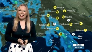 Sunday evening's weather update for the west