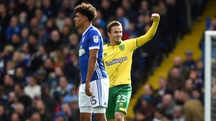 Norwich City move into play-off places following derby win over Ipswich