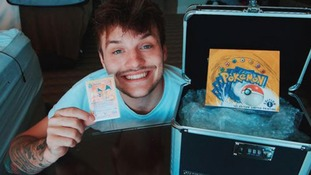 Jay Swingler, from Dudley, spent £40,000 on rare Pokémon cards.
