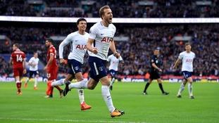 Premier League: Tottenham 4-1 Liverpool - Kane bags brace as Spurs run riot at Wembley