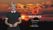 Wales weather: Rain overnight, then brightening up tomorrow