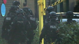 Nuneaton bowling alley gunman arrested after four-hour standoff