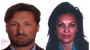 Police hunt wife and children of missing conman