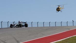 Hamilton edges closer to World title with win in US Grand Prix