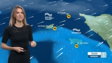 Poor visibility for today. Sophia has the latest