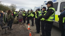 Protests continue in Kirby Misperton as fracking operation edges closer