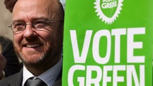 Patrick Harvie, co-convener of the Scottish Green Party