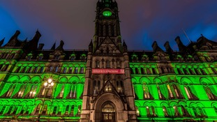 The Halloween festival will include iconic Manchester buildings being lit up green