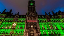 Haunted make over of Manchester's famous buildings