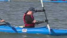 Quadruple amputee preparing for South African kayak