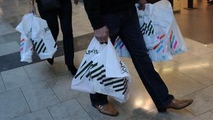 John Lewis shopping bagds