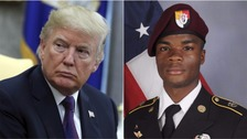 Soldier's widow says Trump 'couldn't remember his name' in call