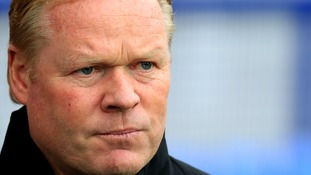 Everton sack manager Ronald Koeman after disastrous start to the season