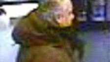 CCTV image of man police want to speak to in connection with a sexual assault on a teenage girl