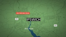 Police investigate double stabbing in Ipswich
