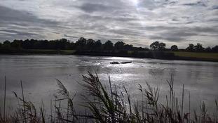 Kirton Creek in Suffolk