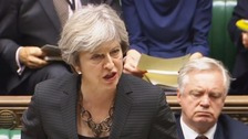 Theresa May: Brexit talks close to deal on citizens' rights