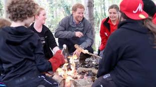 Prince Harry visits 'ecotherapy' centre on Lancashire visit