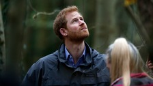 Prince Harry visits Lancashire