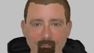 Efit image made of one of the suspects police are hoping to identify