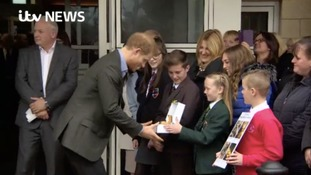 Prince Harry visits Veteran UK