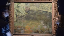 Churchill's final painting expected to fetch around £80,000