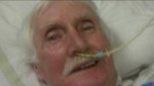 David James in hospital