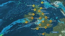 Weather: A cloudy start for many with some rain