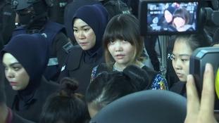 Doan Thi Huong is accused of murdering Kim Jong-nam.