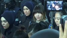 Kim Jong-nam death: Alleged killers revisit murder scene
